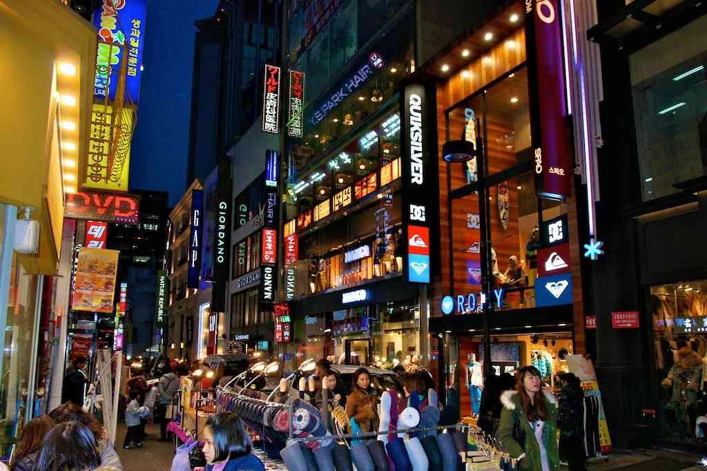 Myeong Dong Market